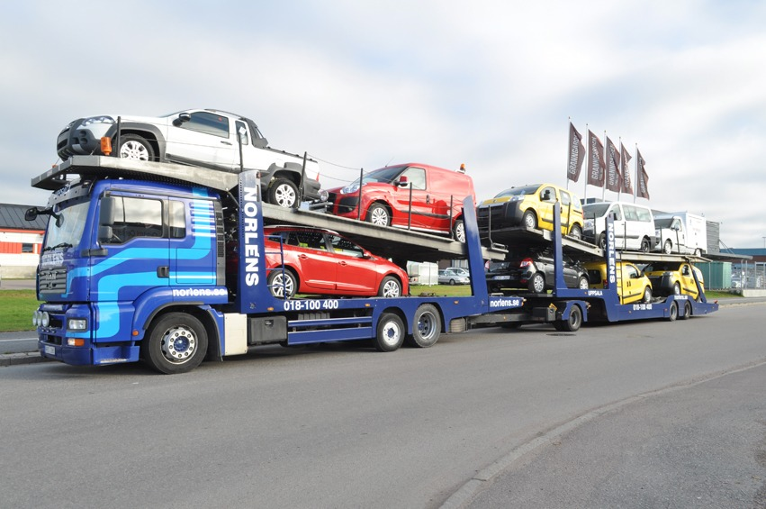 Biltransport Scania P400