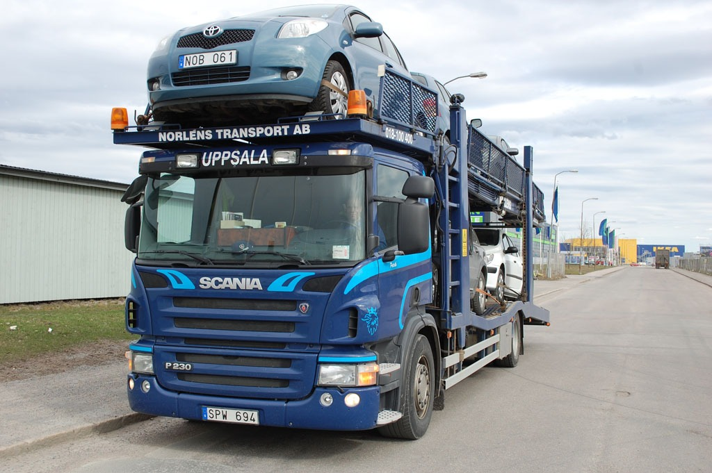 Biltransport Scania P230