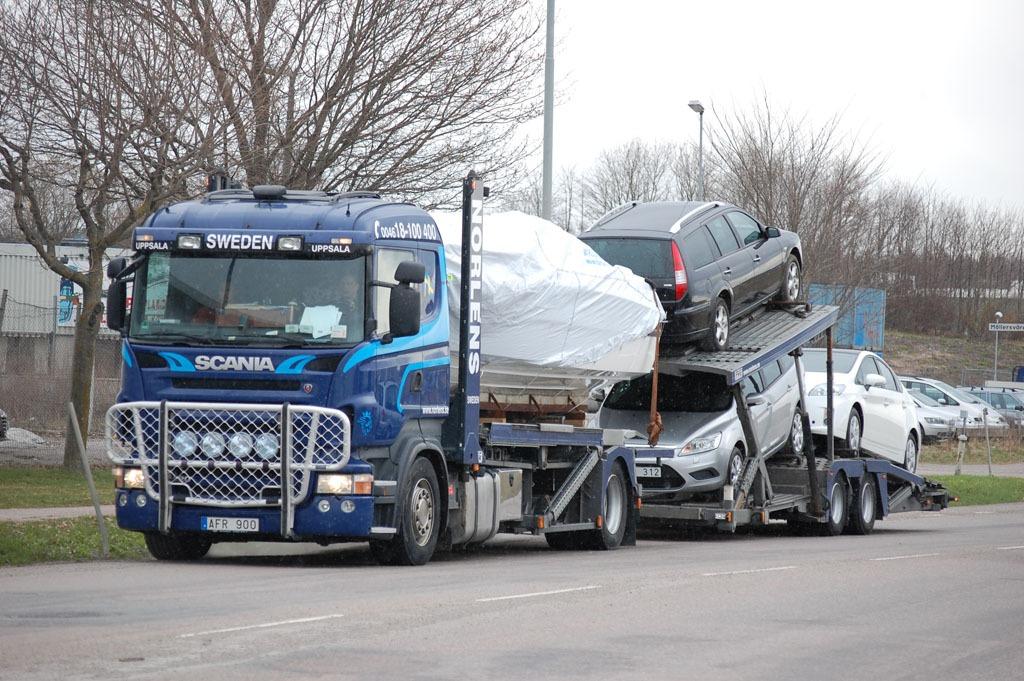 Biltransport Scania R480